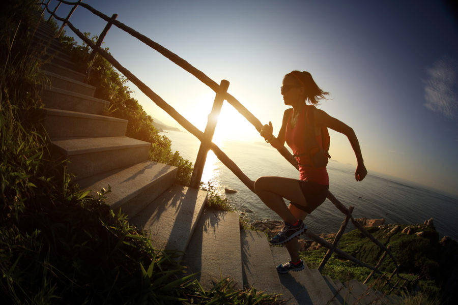 Running Stairs and Mental Health